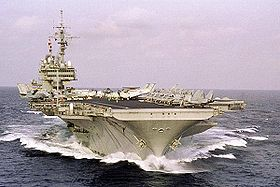 Image illustrative de l'article USS Kitty Hawk (CV-63)