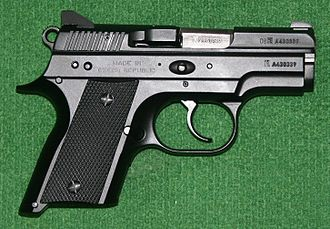 CZ 75 - The CZ 2075 RAMI subcompact variant designed for concealed carry