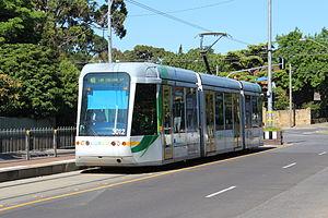 Melbourne tram route 48 - C class tram at Balwyn North terminus