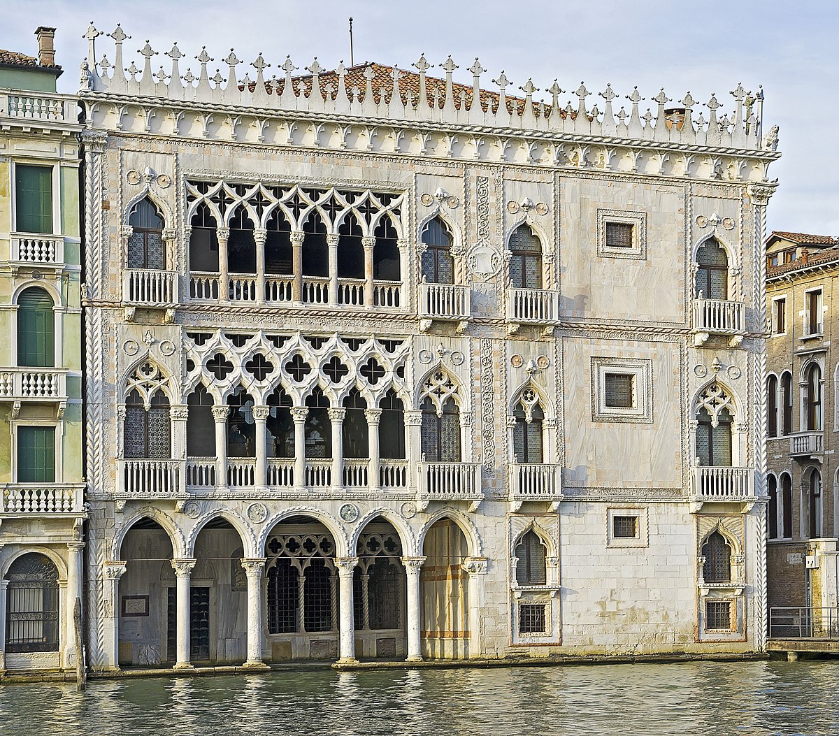 Ca 39 d 39 oro wikipedia for Architecture venise
