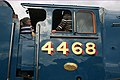 Cab views- admirers of 'Mallard' on the footplate. - panoramio.jpg