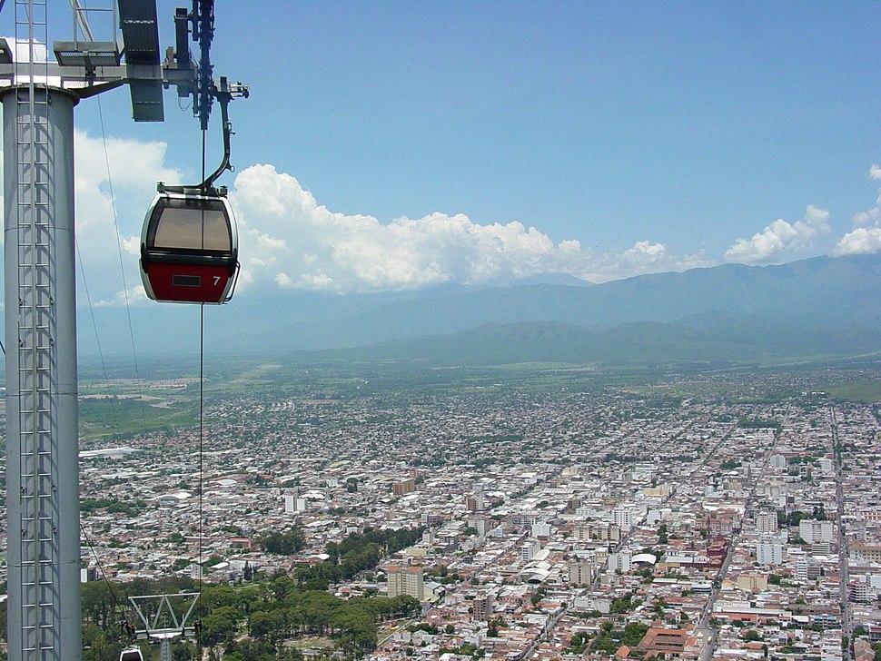 Cable Car to the Cerro San Bernardo - Salta - Argentina