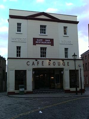 Café Rouge - Cafe Rouge on Assembly Street, Leeds.