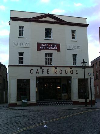 Café Rouge - Café Rouge on Assembly Street, Leeds.