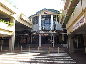 Cairns Railway Station, Queensland, Jan 2013.JPG