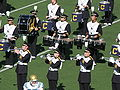 Cal Band section at halftime at UCLA at Cal 10-25-08 3.JPG
