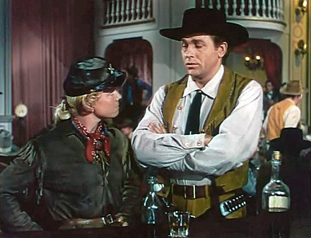 Day with Howard Keel in Calamity Jane (1953) Calamity Jane trailer.jpg