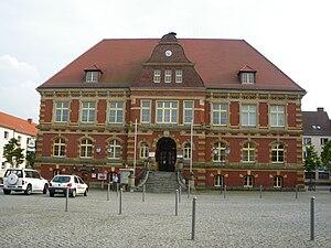 Calau - Town hall of Calau