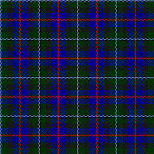 Clan Campbell of Cawdor - The Campbell of Cawdor tartan is one of several tartans officially authorised by the chief of Clan Campbell.