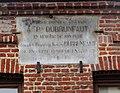 Camphin-en-Pévèle Mairie plaque commémorative.JPG