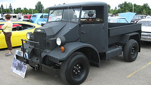 Canadian Military Pattern truck - Chevrolet C8 CMP truck with Type 11 cab