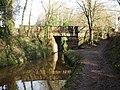 Canal bridge, New Inn - geograph.org.uk - 1762533.jpg