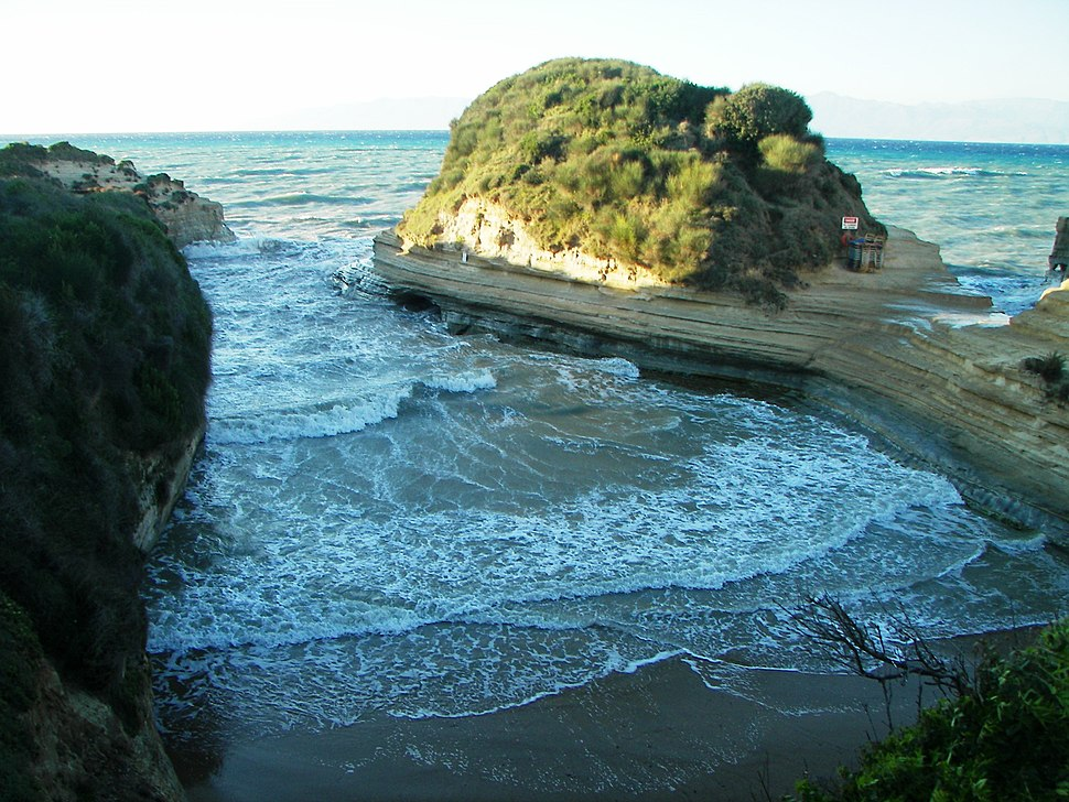 Canal d%27amour at Sidari in Corfu