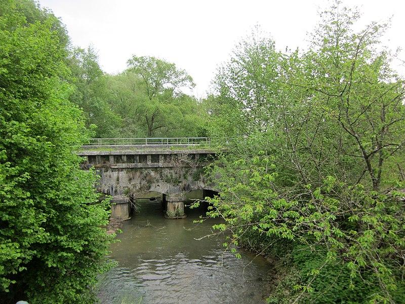 Canal de la Marne au Rhin, Pont-canal de Brusson