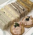 Canapes and finger sandwiches. High Tea at the Savoy Hotel.jpg