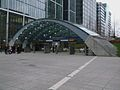 Canary Wharf tube stn entrance2.JPG
