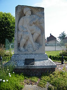 Canchy (Somme)-Monument aux morts..JPG