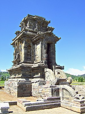 Dieng temples - The Candi Puntadewa