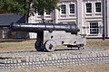 Cannon on Chatham River Front - geograph.org.uk - 1481202.jpg