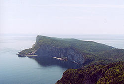 Land's End ĉe Gaspé