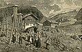 Capanne e popolo di val di Medels, nella Svizzera.jpg
