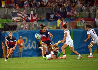United States women's national rugby sevens team - US vs France at the 2016 Summer Olympics
