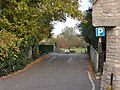 Car park entrance in Burford - geograph.org.uk - 1578682.jpg