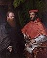 Cardinal Ippolito de' Medici and Monsignor Mario Bracci.jpg