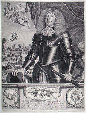 Siege of Groningen - Image: Carel Rabenhaubt (Lambert Visscher)