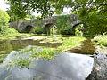 Carhaix 49 Le Petit Carhaix Le pont du XVIIIe sur l'Hyères (vu du côté amont).jpg