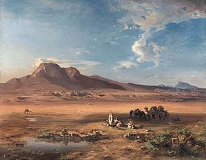 Acrocorinth - Image: Carl Anton Joseph Rottmann Corinth with Akrocorinth WGA20150