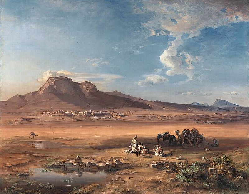 Carl Anton Joseph Rottmann - Corinth with Akrocorinth - WGA20150.jpg