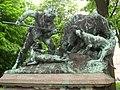 Carl Begas - Eberjagd um 1500 - Berlin-Tiergarten - IMG 8380.JPG