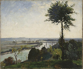 The Tree and the River III (The Seine at Bois-le-Roi)
