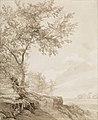 Carl Gustav Carus - Laubbaumgruppe (1811).jpg