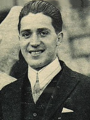 Carlos Abarca - Abarca in 1924