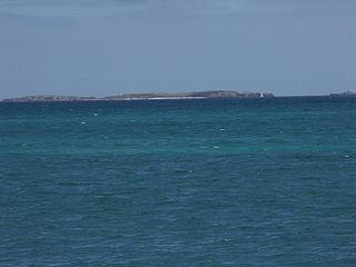 Carnac Island Island off the coast of Western Australia