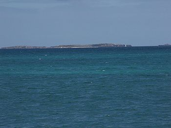 Carnac Is. photographed from C.Y O'Connor beach