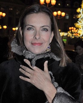 Retrach de Carole Bouquet