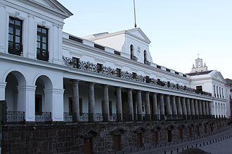 Carondelet Palace - Image: Carondelet Quito