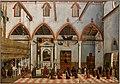 Carpaccio, visione del priore ottobon con l'apparizione dei crocifissi del M. Ararat nella chiesa di S.Antonio di Castello, 1515, 01.JPG