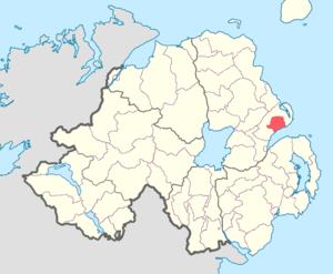 Carrickfergus (barony) - Image: Carrickfergus barony