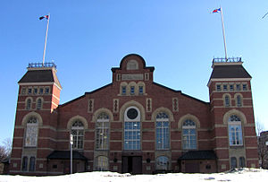 Cartier Square Drill Hall - Cartier Drill Hall in January 2005