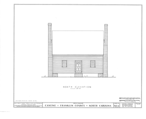 Cascine, State Route 1702, Louisburg, Franklin County, NC HABS NC,35-LOUBU.V,1- (sheet 6 of 12).png
