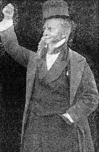 Caste (play) - John Hare as Eccles in Caste (1915)