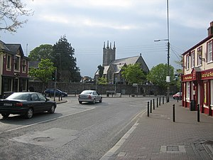 Castleknock - Castleknock Village at the junction of Castleknock Road and College Road