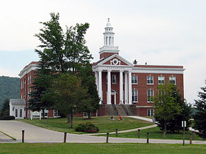 Castleton University - Woodruff Hall.