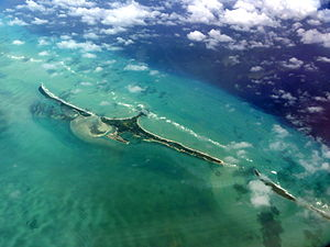 Cat Cays - Cat Cays from the air