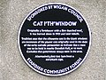 Cat I'th'Window Plaque - geograph.org.uk - 33139.jpg