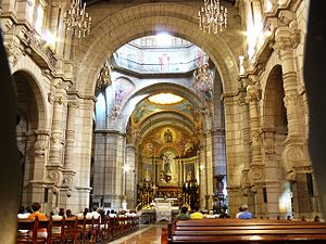 Cathedral Basilica of the Immaculate Conception (Mérida, Venezuela) - Internal view